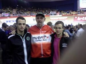 aart Karssen met Dylan & Melvin van Zijl