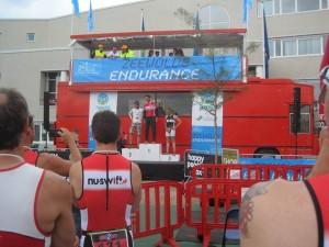 frank podium